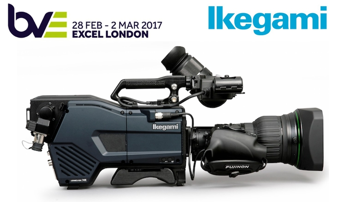 IKEGAMI BOLSTERS PRESENCE AND FOCUSES ON 4K AT BVE 2017