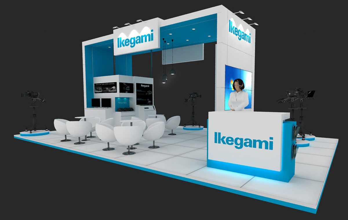 Exhibition Booth En Espanol : Event ikegami japan english